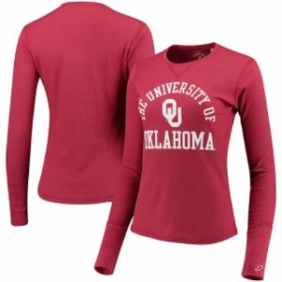League Collegiate Wear リーグ コレクティブル ウェア スポーツ用品  League Oklahoma Sooners Womens Crimson Sara