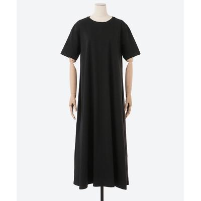 <YLEVE(Women)/イレーヴ> COTTON BIO S/S OP ブラック【三越伊勢丹/公式】