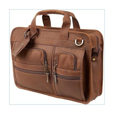 ClaireChase Slimline Executive Briefcase (Rustic)並行輸入品