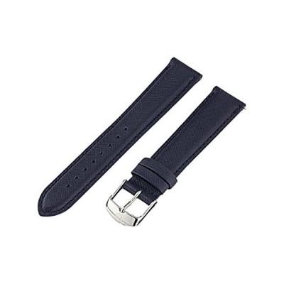 【新品】MICHELE MS18AA060400 18mm カーフスキンブルー 腕時計ベルト