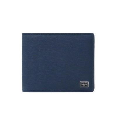 PORTER(ポーター) CURRENT カレント 二つ折り財布 052-02204 ネイビー