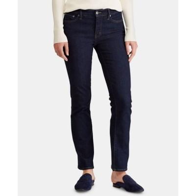 ラルフローレン レディース デニムパンツ ボトムス Super Stretch Modern Curvy Straight Jeans Regular & Short Lengths