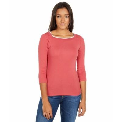 ラルフローレン シャツ トップス レディース Petite Cotton Blend Top Moroccan Pink
