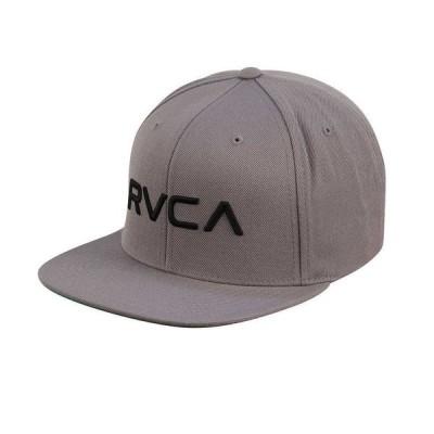 帽子 ルカ RVCA Twill Snapback Hat グレー ブラック Snap Back Cap