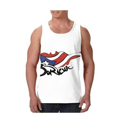 CUTEDWARF Boricua Mens Senior Vest Sleeveless Top T-Shirt Sports Quick-Dryi
