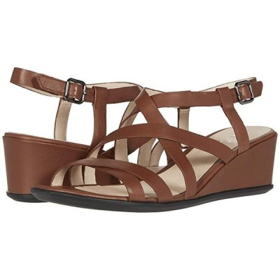 エコー Shape 35 Wedge Sandal レディース ヒール パンプス Cinnamon Cow Leather