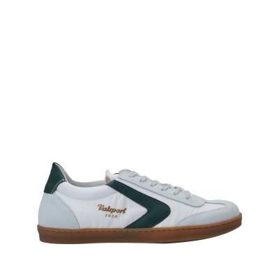 VALSPORT スニーカー&テニスシューズ(ローカット) ホワイト 40 革 / 紡績繊維 スニーカー&テニスシューズ(ローカット)