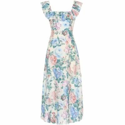 ジマーマン Zimmermann レディース ワンピース ワンピース・ドレス Verity floral linen dress cream floral
