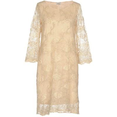 リュー ジョー LIU •JO ミニワンピース&ドレス ベージュ 38 ナイロン 100% ミニワンピース&ドレス