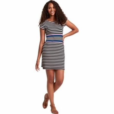 ハットレイ Hatley レディース ワンピース ワンピース・ドレス Nellie Dress - Gradient Stripes Black