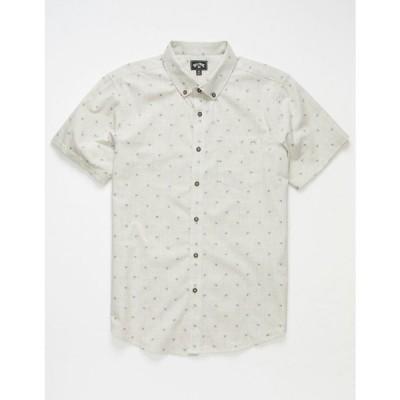 ビラボン BILLABONG メンズ シャツ トップス All Day Jacquard Chino Shirt CHINO