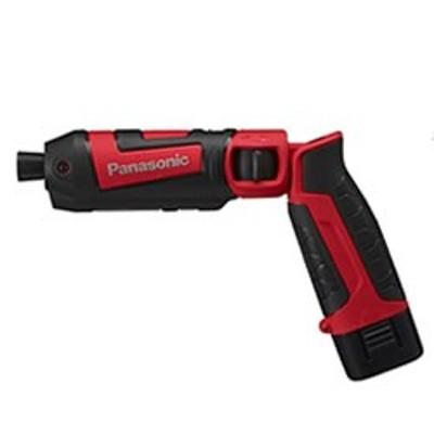 パナソニック【Panasonic】7.2V1.5Ah充電スティックインパクトドライバー EZ7521LA2S-R★【充電器・