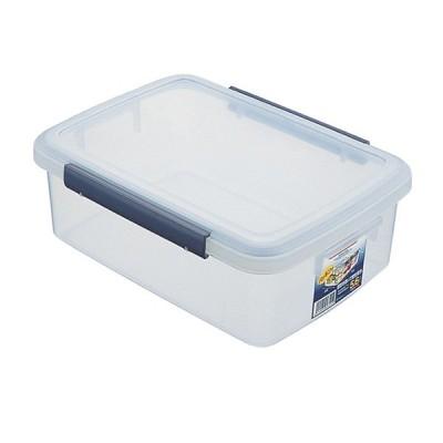 保存容器 ユニックス ウィル キッチンボックス 5.6L ネイビー F-30 | プラスチック 大容量 大きめ 密封 食品 ストック 密閉 密封