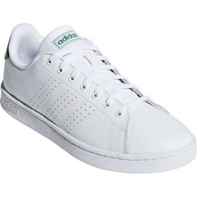 アディダス ADVANCOURT LEA M [サイズ:25.5cm] [カラー:ランニングホワイト×グリーン] #F36424 ADIDAS 送料無料 靴