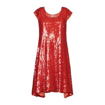 SFIZIO ミニワンピース&ドレス レッド 40 ナイロン 95% / ポリウレタン 5% ミニワンピース&ドレス
