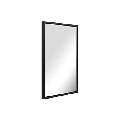ANDY STAR Black Bathroom Mirror for Wall 22x30x2, Modern Matte Black Rectan