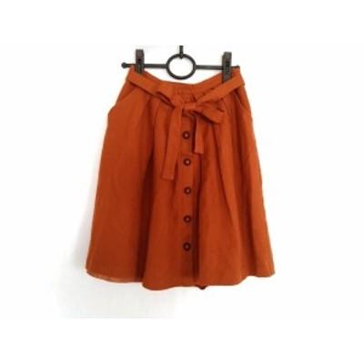 エストネーション ESTNATION スカート サイズ36 S レディース ブラウン bis【還元祭対象】【中古】