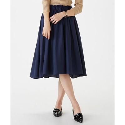 スカート 【LABEL COLLECTION BASIC】フレアスカート