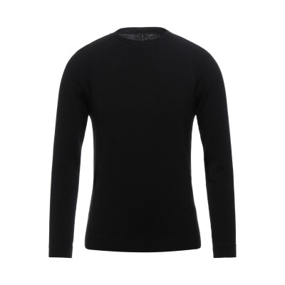 TRANSIT プルオーバー ブラック XL ウール 100% プルオーバー