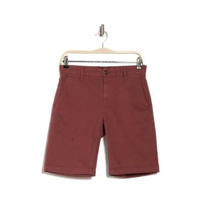 ペイジ メンズ カジュアルパンツ ボトムス Thompson Shorts CANYON RED
