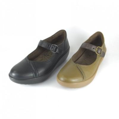 アキレスソルボ レディース 244 SRL2440 クロ オリーブ ウォーキングシューズ コンフォート 厚底 パンプス 履きやすい靴 レディース 疲れにくい靴 立ち仕事 通勤