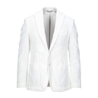 ローダ RODA テーラードジャケット ホワイト 50 コットン 100% テーラードジャケット