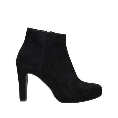 NILA & NILA ショートブーツ ブラック 39 紡績繊維 ショートブーツ
