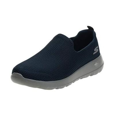 スケッチャーズ メンズ GOwalk Max スリッポン スニーカー 紳士靴 カジュアル 男性用 (8 UK) (ネイビー) 並行輸入品