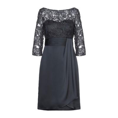 COUTURE-CLUB ミニワンピース&ドレス 鉛色 44 ポリエステル 100% / ガラス ミニワンピース&ドレス