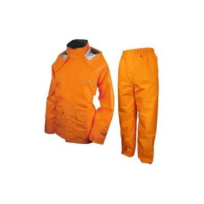 URVAN(アーヴァン) AA-17935 レインスーツ 千両万両 オレンジ 4L #9850 (AA17935)