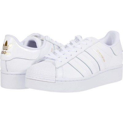 アディダス adidas Originals レディース シューズ・靴 Superstar Bold - Platform Footwear White/Footwear White/Gold Metallic
