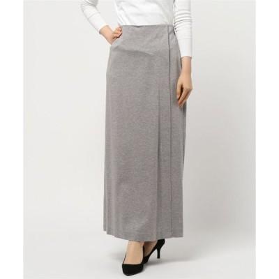 スカート リヨセル/コットンポンチ スカート