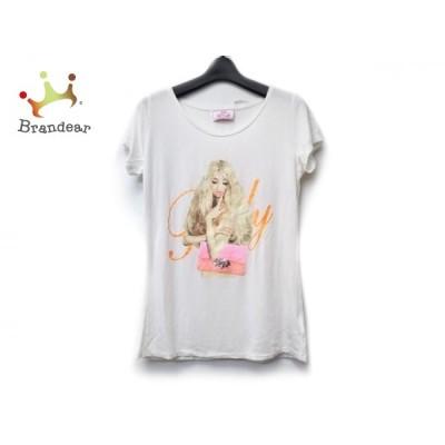 レディ Rady 半袖Tシャツ サイズF レディース アイボリー×マルチ ビジュー 新着 20200630