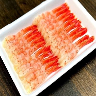 羽田市場 冷凍 尾付きむき甘海老 2LUサイズ 20尾入 国産