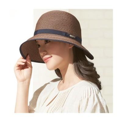 洗えるつば広UVカット帽子  2077-189792