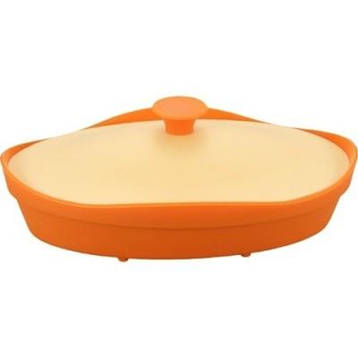 フルール シリコンスチーマーオーバル バレンシアオレンジ (1コ入)