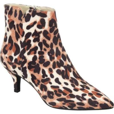 ジュルネ コレクション Journee Collection レディース ブーツ シューズ・靴 Comfort Foam(TM) Isobel Bootie Leopard