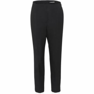 アレキサンダー マックイーン Alexander McQueen レディース ボトムス・パンツ Wool and silk-blend trousers black
