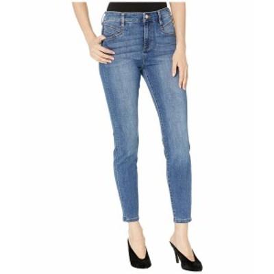 リバプール レディース デニムパンツ ボトムス Abby High-Rise Ankle Skinny w/ Slant Pockets in Eco-Friendly Denim in Laine Laine