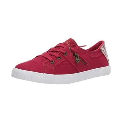 Blowfish Malibu Women's Fashion Casual Sneaker, Jester Red Smoked Canvas, 7【並行輸入品】