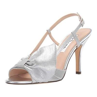 レディース 靴 コンフォートシューズ NINA Women's Viana Silver Size 8.5