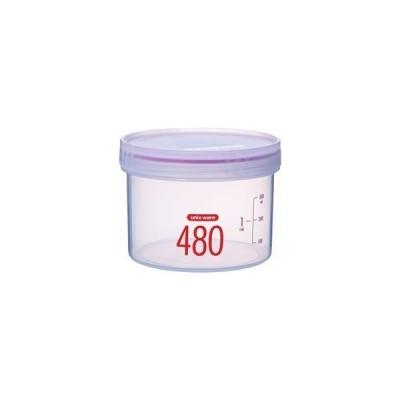 ds-2259703 (まとめ) Sサークルポット/保存容器 【480ml】 高さ8cm 電子レンジ・食洗機可 パッキン付き ユニックス 【120個セット】 (ds2259703)