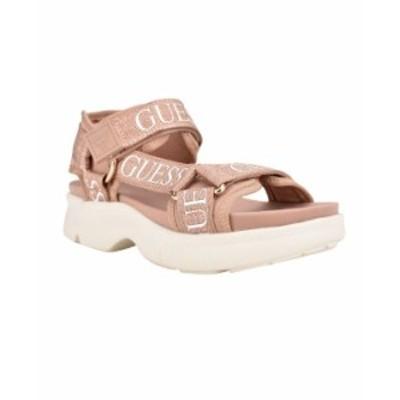 ゲス レディース サンダル シューズ Women's Leona Tech Sandals Gold Multi