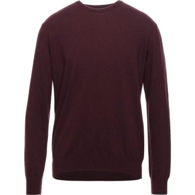 ロッソプーロ ROSSOPURO メンズ ニット・セーター トップス Sweater Maroon