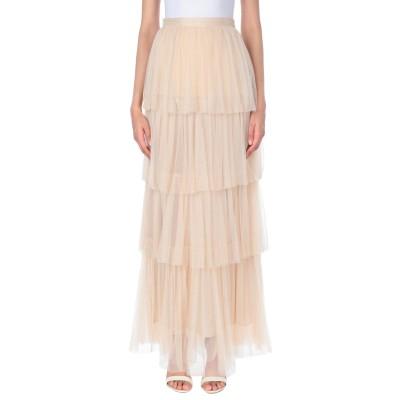 ピンコ PINKO ロングスカート ベージュ 44 ナイロン 100% ロングスカート