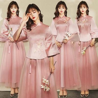 パーティードレス 安い 可愛い ウエディングドレス 花嫁 結婚式 披露宴 新婦 ブライダルドレス ロングドレス