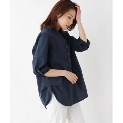 SHOO・LA・RUE / 【M-L】スキッパーロングシャツ WOMEN トップス > シャツ/ブラウス