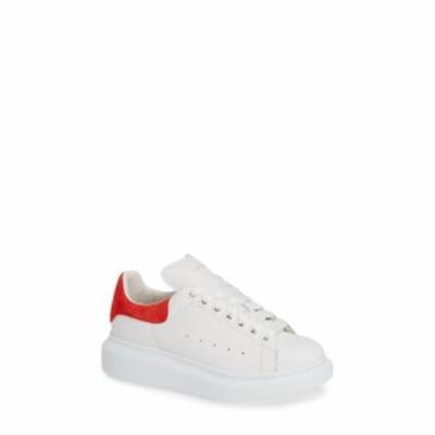 アレキサンダー マックイーン ALEXANDER MCQUEEN レディース スニーカー シューズ・靴 Sneaker White/Lust Red