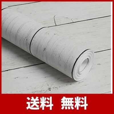 KThome 防水/耐熱/防カビ/防汚木目プランク調壁紙 はがせる カッティングシート ふすま紙 賃貸ワードローブ/ドア/古い家具のリメイク/キッチン