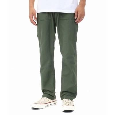 orSlow / オアスロウ : US SLIM FIT FATIGUE PANTS -GREEN- : 【ファーフェッチ】ファティグパンツ ワークパンツ カーゴパンツ : 01-5032-16